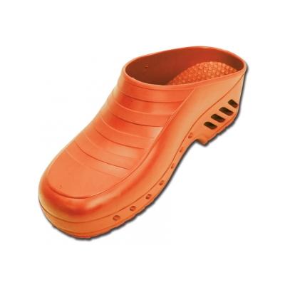GIMA CLOGS - bez pórů - 35-36 - oranžová