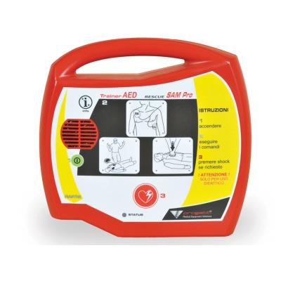 SAM PRO TRAINER pro poloautomatickou záchranu Sam AED Defibrilátor - italština