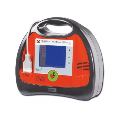 PRIMEDIC HEART SAVE AED-M - Defibrilátor s EKG a monitorem GB / ES / PT / GR