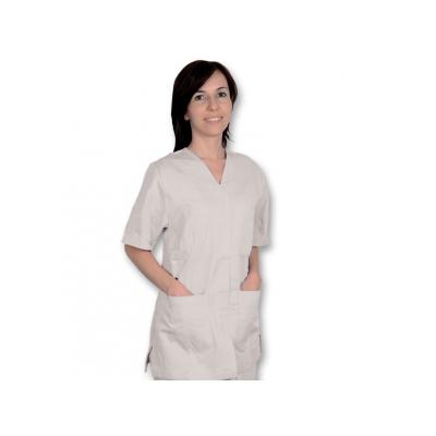 BUNDA S STUDEM - bavlna / polyester - žena M bílá