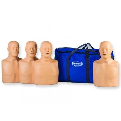 4 PRACTI-MAN ADVANCE CPR MANIKINS