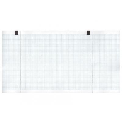 Tepelný papír EKG 130 x 27 mm x m role - modrá mřížka