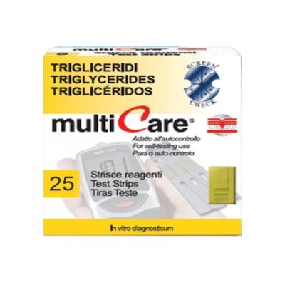 TRIGLYCERIDES STRIPS - pro kód 23948/49/50