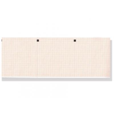 Tepelný papír EKG 112 x 100 mm x 300 s - oranžová mřížka