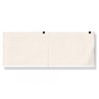Tepelný papír EKG 110 x 110 mm x 200 s - oranžová mřížka