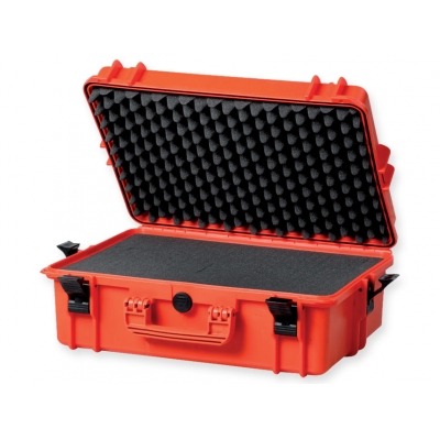 GIMA CASE 500 s vnitřní pěnou - oranžová
