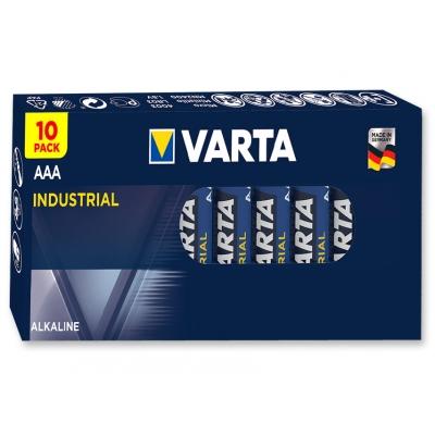VARTA PRŮMYSLOVÉ ALKALINOVÉ BATERIE - ministilo AAA - 20 krabic po 10