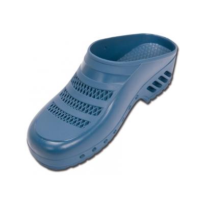 GIMA CLOGS - s póry - 34-35 - světle modrá
