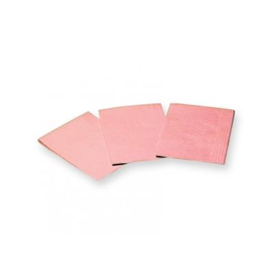 VYLOŽENÉ NAPKINY - 33x45 cm růžové