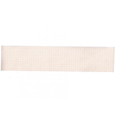 Tepelný papír EKG 58 x 25 mm x m role - oranžová mřížka