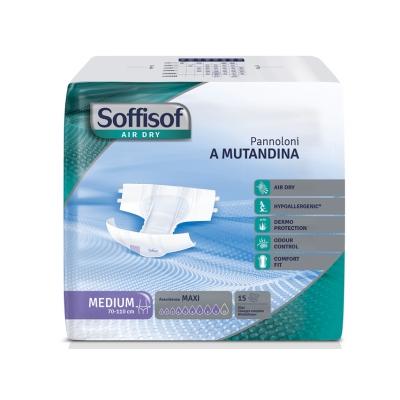 SOFFISOF AIR DRY INCONTINENCE PAD - těžká inkontinence - střední