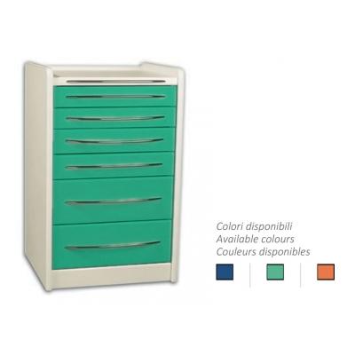 MOBILNÍ JEDNOTKA GE419 6 zásuvek 49 cm - libovolná barva
