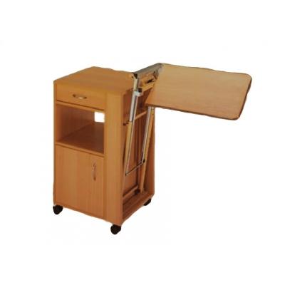 BEDSIDE TABLE - výškově nastavitelný podnos - dřevo pro 27672/3