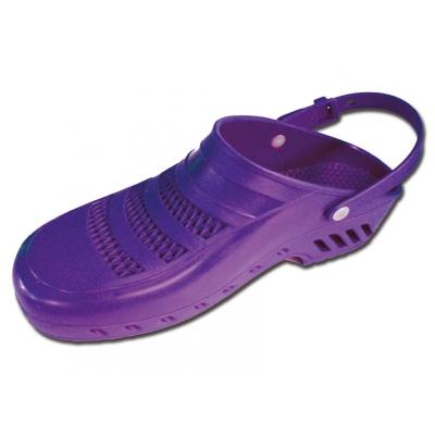 GIMA CLOGS - s póry a pásky - 41-42 - fialová