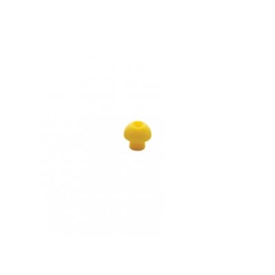 SANIBEL ADI MUSHROOM EAR TIP 12 mm - žlutá