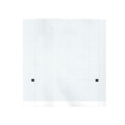 Tepelný papír EKG 210 x 20 mm x m role - modrá mřížka