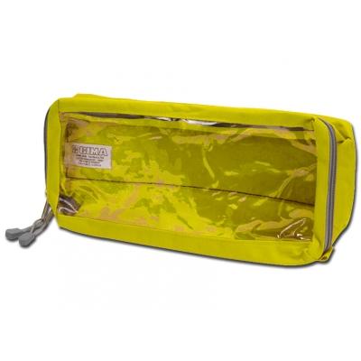 E4 RECTANGULAR POUCH dlouhý s oknem - žlutý