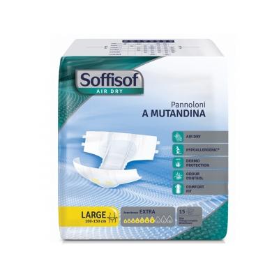 SOFFISOF AIR DRY INCONTINENCE PAD - mírná inkontinence - velká