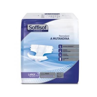 SOFFISOF CLASSIC INCONTINENCE PAD - těžká inkontinence - velká