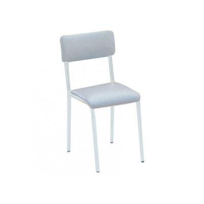 ŽIDLE - čalouněná sedačka - šedá