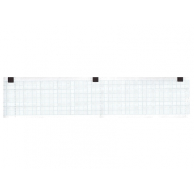 Tepelný papír EKG 50 x 30 mm x m role - modrá mřížka