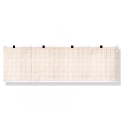 EKG termický papír 90 x 70 mm x 400 s - oranžová mřížka