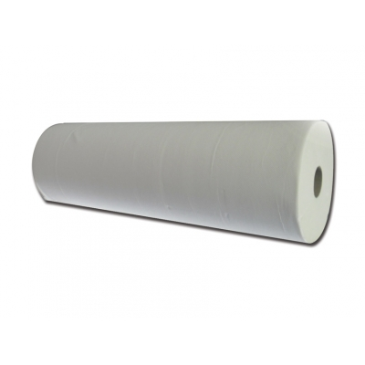 MICROEMBOSSED GLUED 2 PLIES COUCH ROLL - 100m x 50cm
