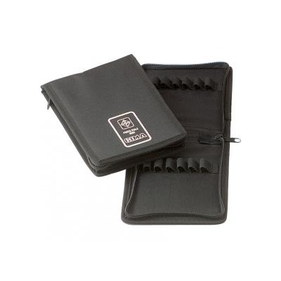 MINI VIALS BAG - černý nylonový zip