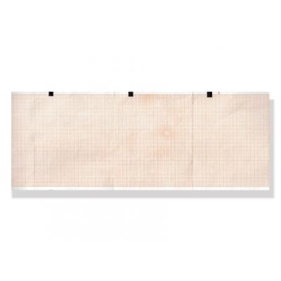 Tepelný papír EKG 114 x 90 mm x 200 s - zelená mřížka
