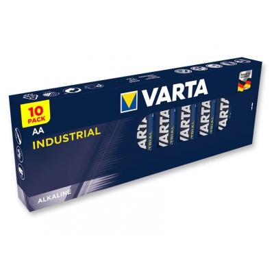 VARTA INDUSTRIAL ALKALINE BATTERIES - stilo AA - 20 krabička po 10 kusech