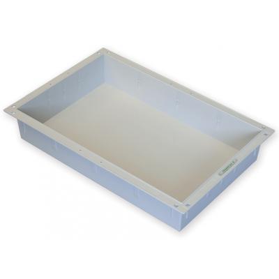 PLASTICKÝ ZÁSOBNÍK 60x40x10h cm