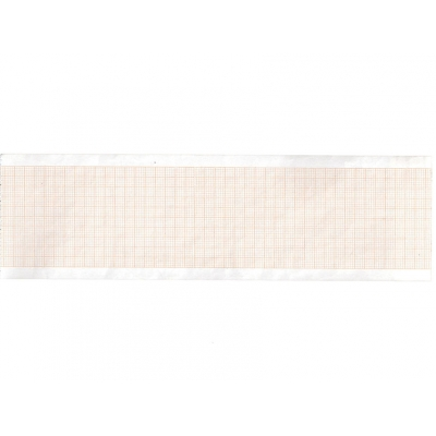 Tepelný papír EKG 63 x 30 mm x m role - oranžová mřížka