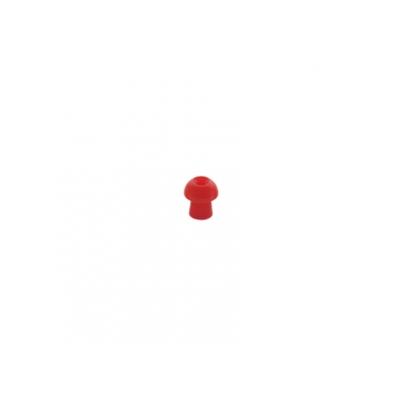 SANIBEL ADI MUSHROOM EAR TIP 10 mm - červený