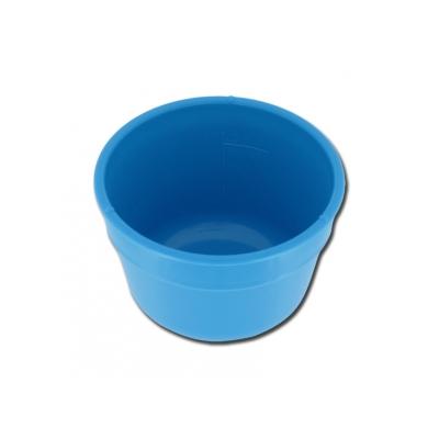GALLIPOT / LOTION BOWL 100 mm - plast - stupnice 300 ml