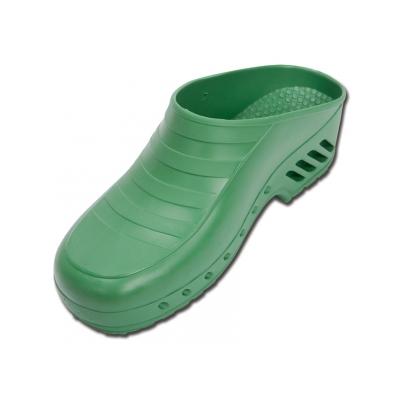 GIMA CLOGS - bez pórů - 34-35 - zelená