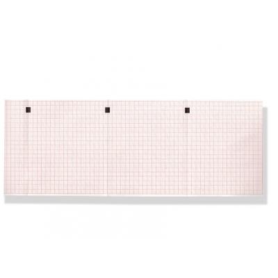 Tepelný papír EKG 112 x 90 mm x 200 s - červená mřížka
