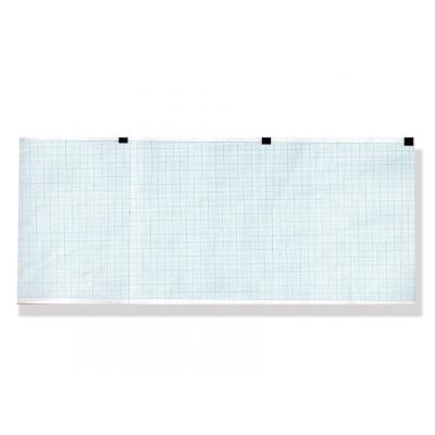 Tepelný papír EKG 120 x 100 mm x 300 s - modrá mřížka