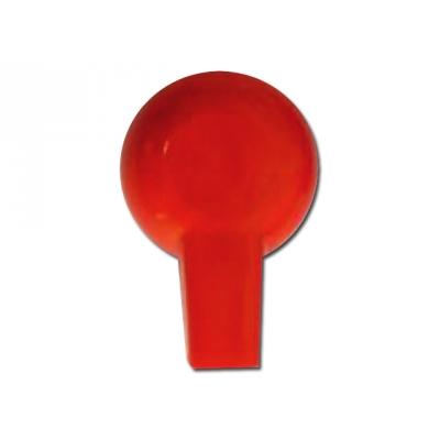 ADAPTÉRY CLIPŮ 2 mm - červené