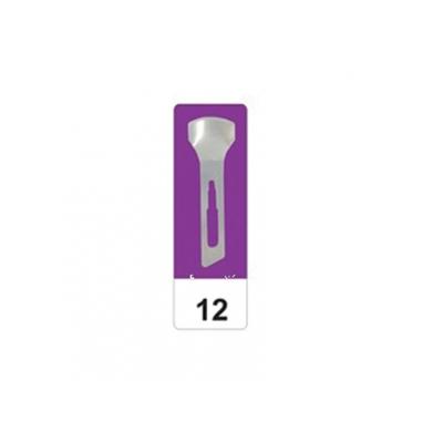 GIMA UHLÍ OCELOVÉ OCELI N 12 - sterilní