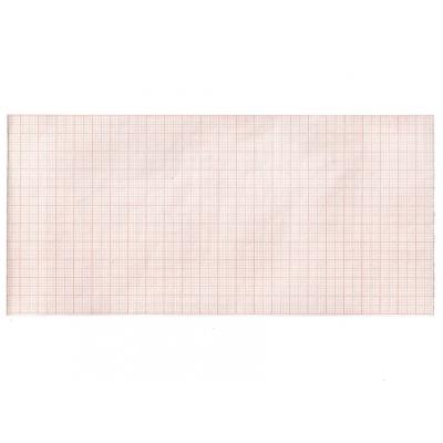Tepelný papír EKG 112 x 23 mm x m role - oranžová mřížka