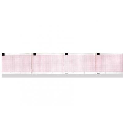 Tepelný papír EKG 50 x 75 mm x 400 s - oranžová mřížka
