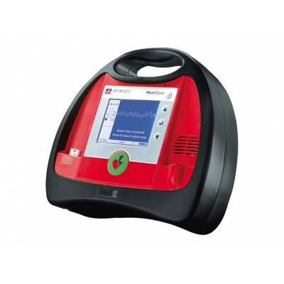 PRIMEDIC HEART SAVE 6 Defib.with recharg.battery a Monitor-IT / FR / DE / GB