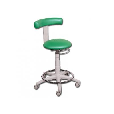STOOL s kroužkem - zelená