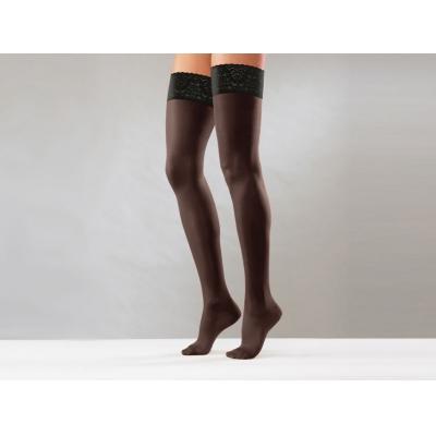 STAY UPS - L - střední komprese - černá