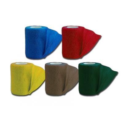 KOHESIVNÍ NEVLÁKANÁ ELASTICKÁ BANDÁŽ 4,5 mx 7,5 cm - 5 barev