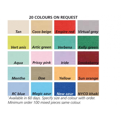 BUNDY - bavlna / polyester - unisex L barva na vyžádání