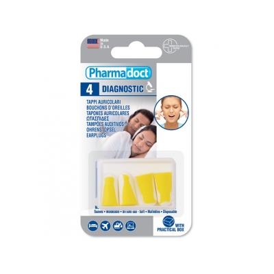 PHARMADOCT EAR PLUGS - krabička po 12 krabicích po 4