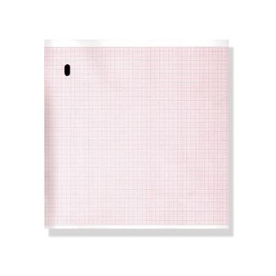 Tepelný papír EKG 215 x 280 mm x 300 s - oranžová mřížka