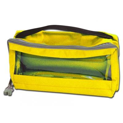 E3 RECTANGULAR BAG polstrovaný oknem a držadlem - žlutá