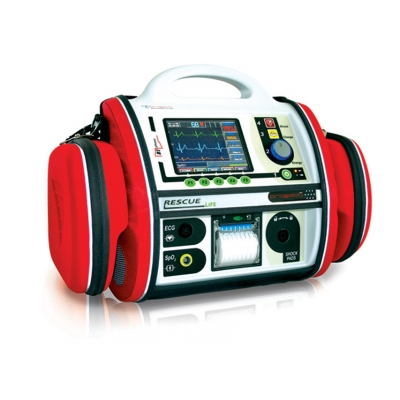 RESCUE LIFE AED DEFIBRILÁTOR s PACEMAKEREM - anglicky